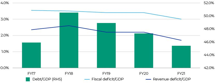 Central Debt